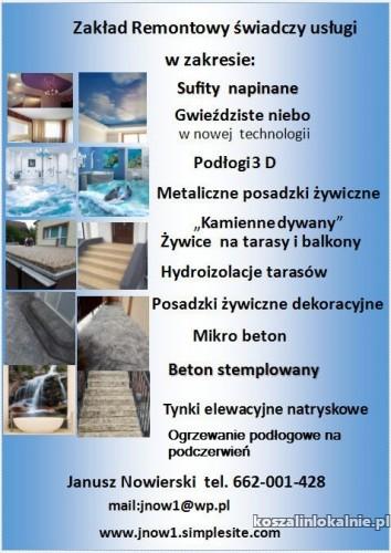 Beton stemplowany - architektoniczny  - mikrocement